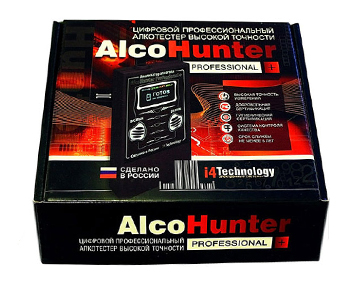 Алкотестер AlcoHunter Professional+