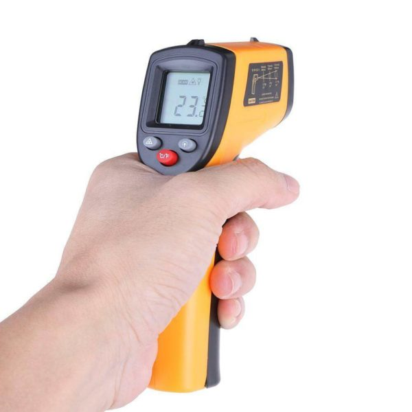 Термометр инфракрасный бесконтактный пирометр GM320