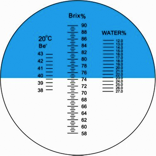 Рефрактометр для меда RHB-90АТС